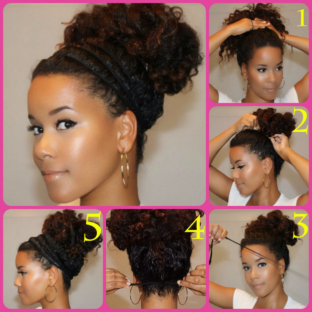 5 Easy Ways To Wear A Bun Hairstyle Protect Your Glow
